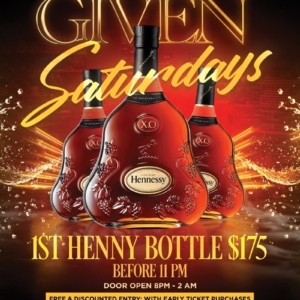 HENNY GIVEN SATURDAYS